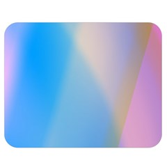 Twist Blue Pink Mauve Background Double Sided Flano Blanket (Medium)