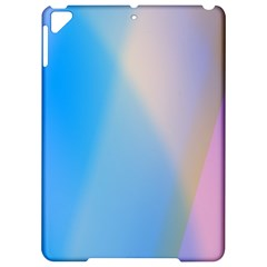 Twist Blue Pink Mauve Background Apple iPad Pro 9.7   Hardshell Case