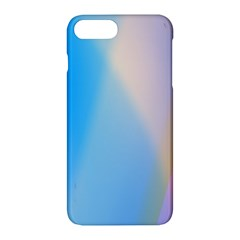 Twist Blue Pink Mauve Background Apple iPhone 7 Plus Hardshell Case