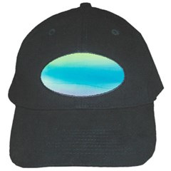 Watercolour Gradient Black Cap