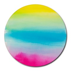 Watercolour Gradient Round Mousepads