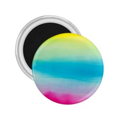 Watercolour Gradient 2.25  Magnets