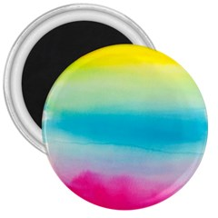 Watercolour Gradient 3  Magnets