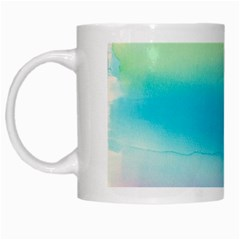 Watercolour Gradient White Mugs