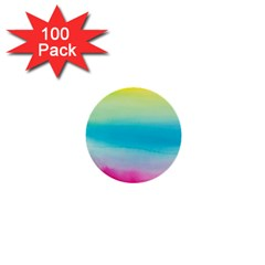 Watercolour Gradient 1  Mini Buttons (100 pack)
