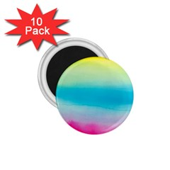 Watercolour Gradient 1.75  Magnets (10 pack)