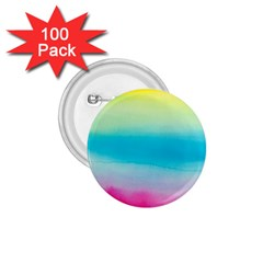 Watercolour Gradient 1.75  Buttons (100 pack)