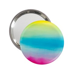 Watercolour Gradient 2.25  Handbag Mirrors