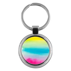 Watercolour Gradient Key Chains (Round)