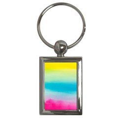 Watercolour Gradient Key Chains (Rectangle)