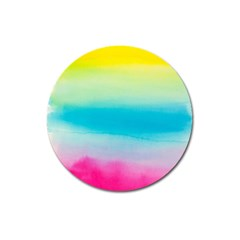 Watercolour Gradient Magnet 3  (Round)
