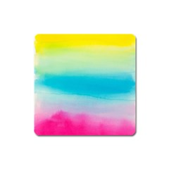 Watercolour Gradient Square Magnet