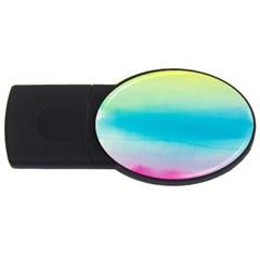 Watercolour Gradient USB Flash Drive Oval (2 GB)