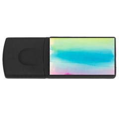 Watercolour Gradient USB Flash Drive Rectangular (1 GB)
