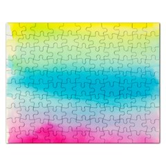 Watercolour Gradient Rectangular Jigsaw Puzzl