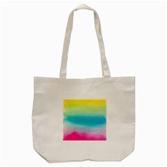 Watercolour Gradient Tote Bag (Cream)