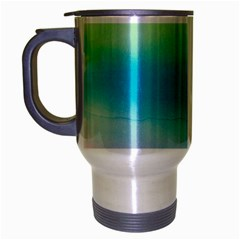 Watercolour Gradient Travel Mug (Silver Gray)