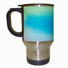 Watercolour Gradient Travel Mugs (White)