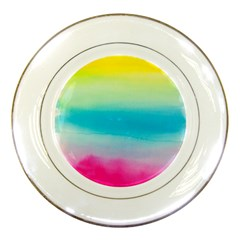 Watercolour Gradient Porcelain Plates