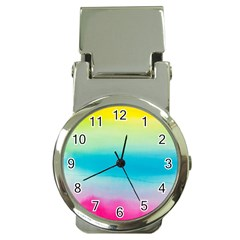 Watercolour Gradient Money Clip Watches