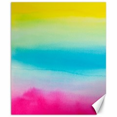 Watercolour Gradient Canvas 8  x 10
