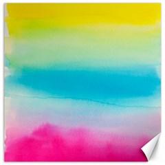 Watercolour Gradient Canvas 16  x 16