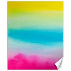 Watercolour Gradient Canvas 16  x 20