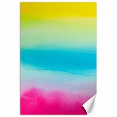 Watercolour Gradient Canvas 20  x 30