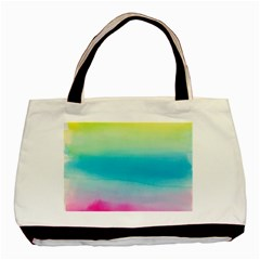 Watercolour Gradient Basic Tote Bag (Two Sides)