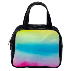 Watercolour Gradient Classic Handbags (One Side)