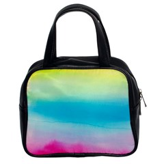 Watercolour Gradient Classic Handbags (2 Sides)