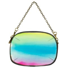 Watercolour Gradient Chain Purses (One Side)