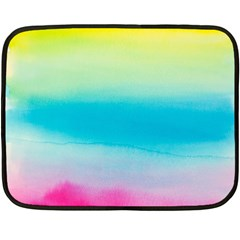 Watercolour Gradient Double Sided Fleece Blanket (Mini)