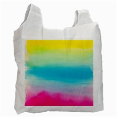 Watercolour Gradient Recycle Bag (Two Side)