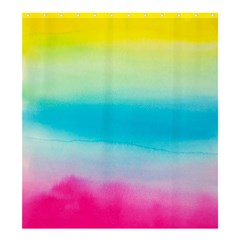 Watercolour Gradient Shower Curtain 66  x 72  (Large)