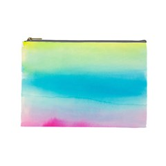 Watercolour Gradient Cosmetic Bag (Large)