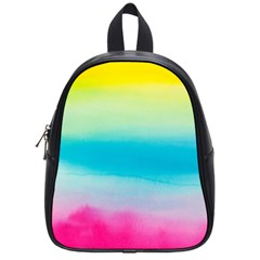 Watercolour Gradient School Bags (Small)