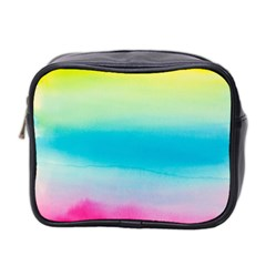 Watercolour Gradient Mini Toiletries Bag 2-Side