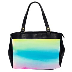 Watercolour Gradient Office Handbags (2 Sides)