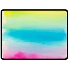 Watercolour Gradient Fleece Blanket (Large)