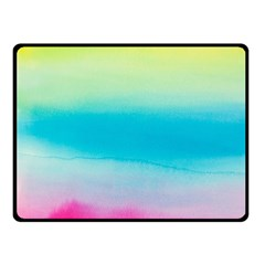 Watercolour Gradient Fleece Blanket (Small)