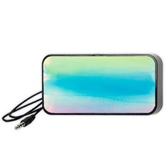 Watercolour Gradient Portable Speaker (Black)