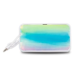 Watercolour Gradient Portable Speaker (White)