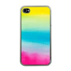 Watercolour Gradient Apple iPhone 4 Case (Clear)