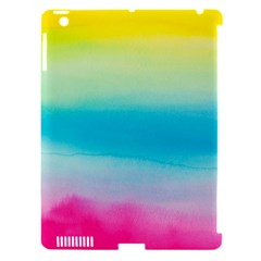 Watercolour Gradient Apple iPad 3/4 Hardshell Case (Compatible with Smart Cover)