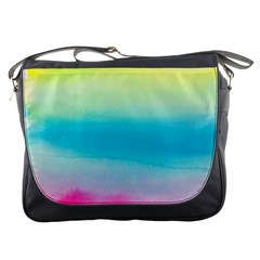 Watercolour Gradient Messenger Bags