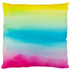 Watercolour Gradient Large Cushion Case (One Side)