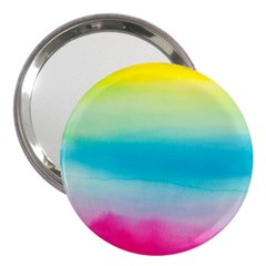 Watercolour Gradient 3  Handbag Mirrors