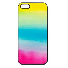 Watercolour Gradient Apple iPhone 5 Seamless Case (Black)
