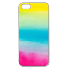 Watercolour Gradient Apple Seamless iPhone 5 Case (Clear)